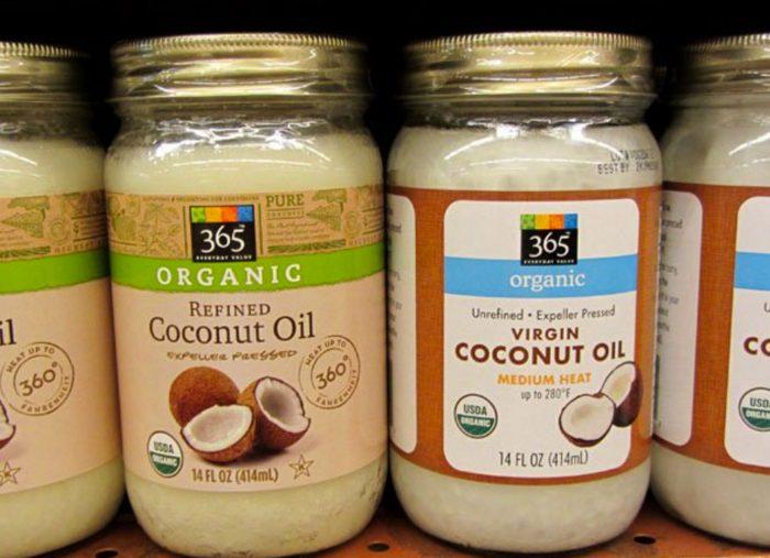 para que sirve el aceite de coco refinado organico