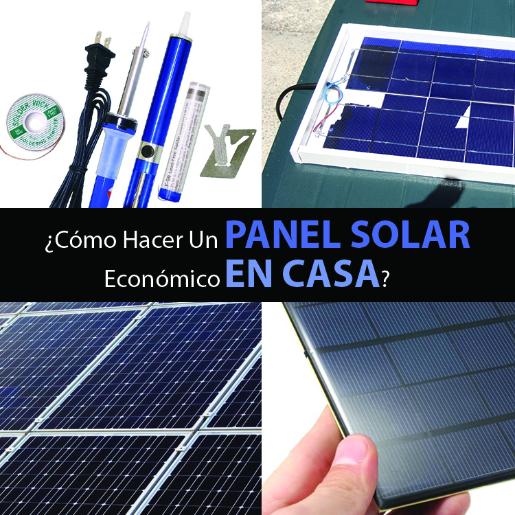 C mo hacer un panel solar econ mico en casa mente y for Como tener buena energia en casa
